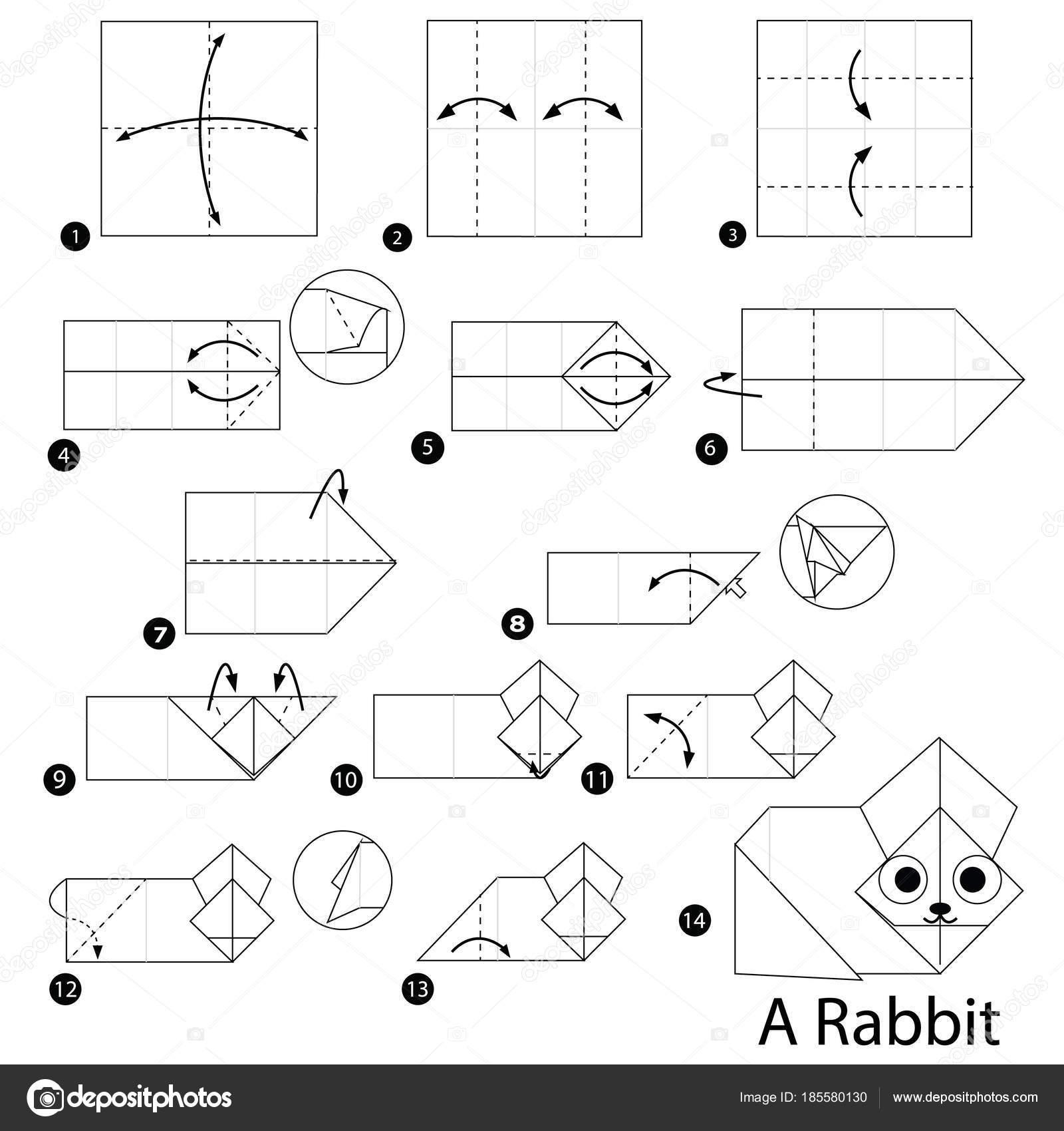 Rabbit Akira Yoshizawa - OrigamiArt.Us | 1700x1600
