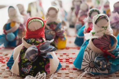 Rag dolls, Russian crafts