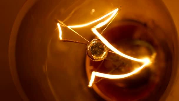 Žárovky žárovky makro