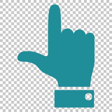 Hand Pointer Up Vector Icon