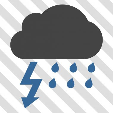 Thunderstorm Vector Icon