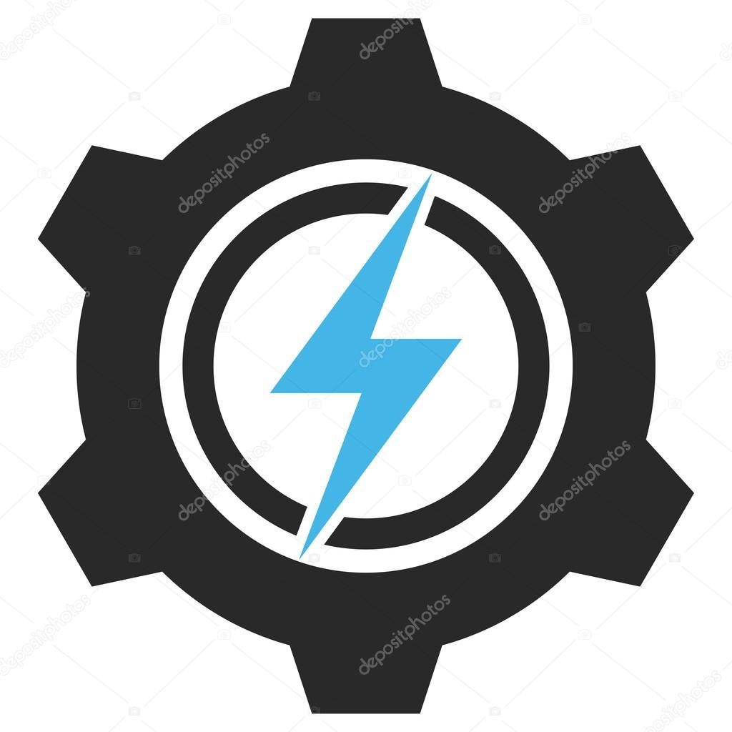 Elektrische Zahnradbahn-Vektor-Eps-Symbol — Stockvektor ...