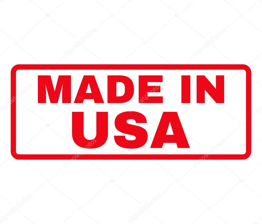 made in usa rubber stamp vector ストックベクター anastasyastocks