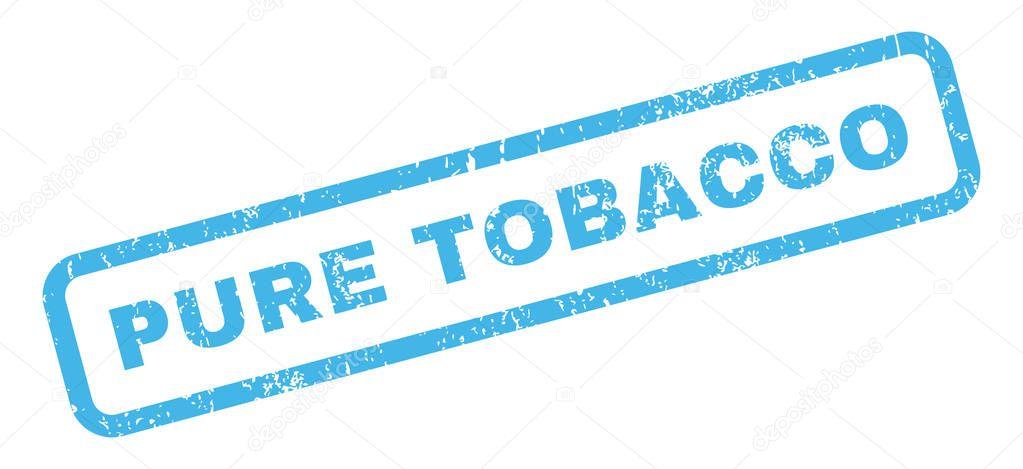 Pure Tobacco Rubber Stamp — Stock Vector © anastasyastocks gmail com