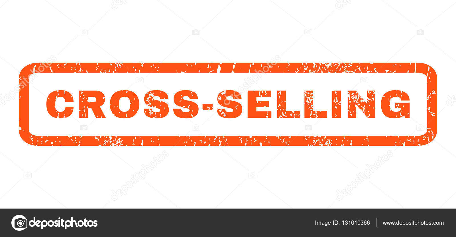 Cross Selling Rubber Stamp Stock Vector C Anastasyastocksgmail
