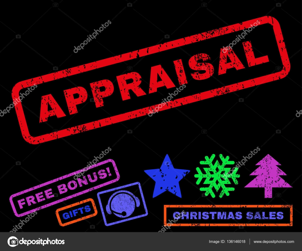 Appraisal Rubber Stamp — Stock Vector © anastasyastocks