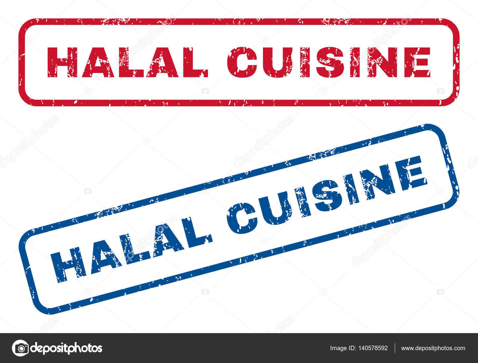 Halal-Küche-Stempel — Stockvektor © anastasyastocks.gmail.com #140578592