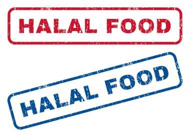 Halal Food Rubber Stamps