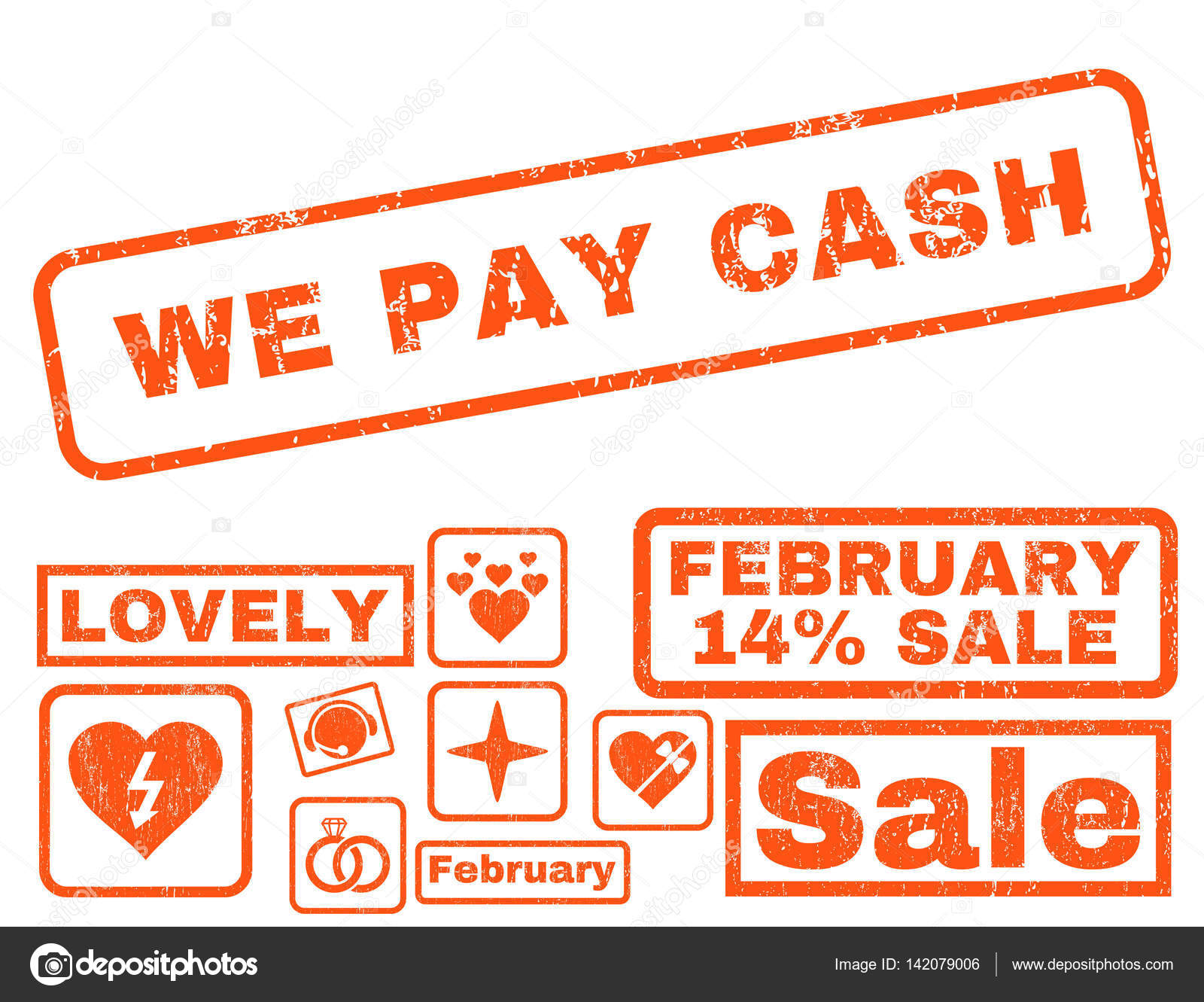 We Pay Cash Rubber Stamp with Bonus — Stock Vector © anastasyastocks ...