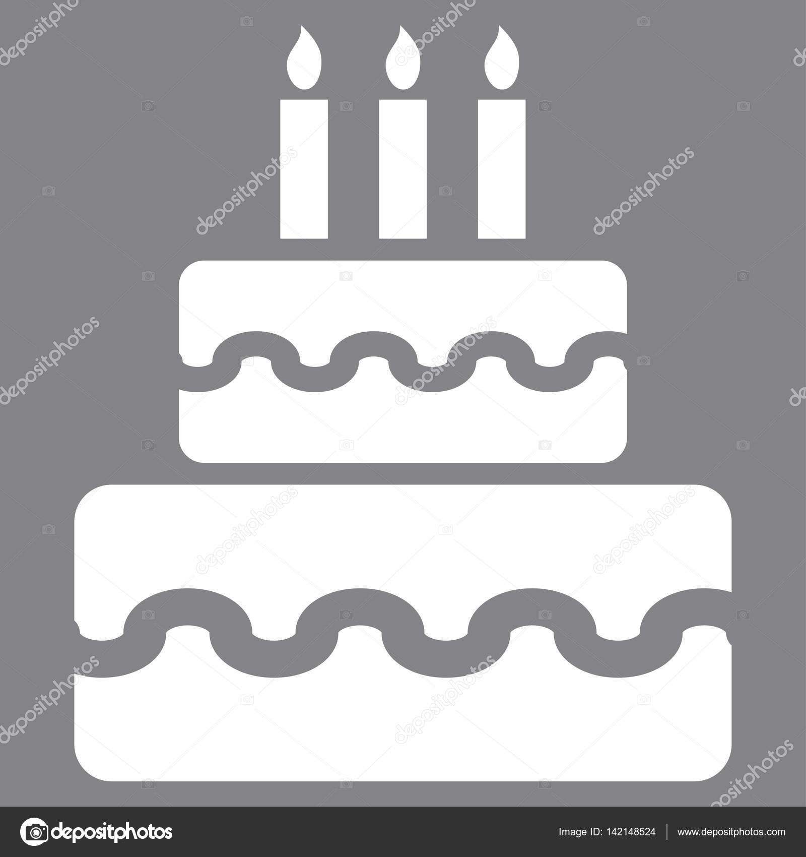 Strange Birthday Cake Vector Icon Stock Vector C Anastasyastocks Gmail Funny Birthday Cards Online Inifodamsfinfo