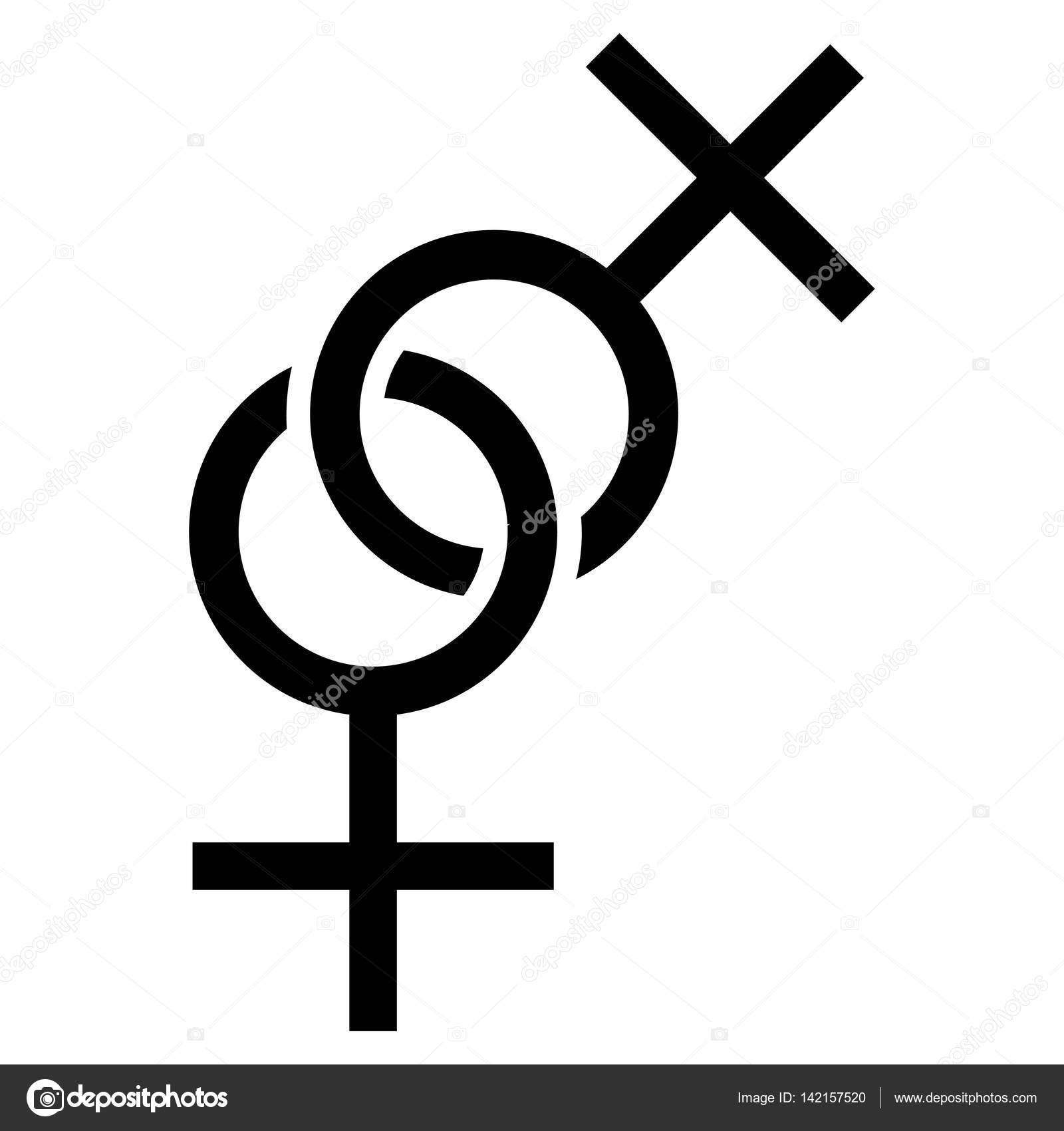 Svart lesb kön