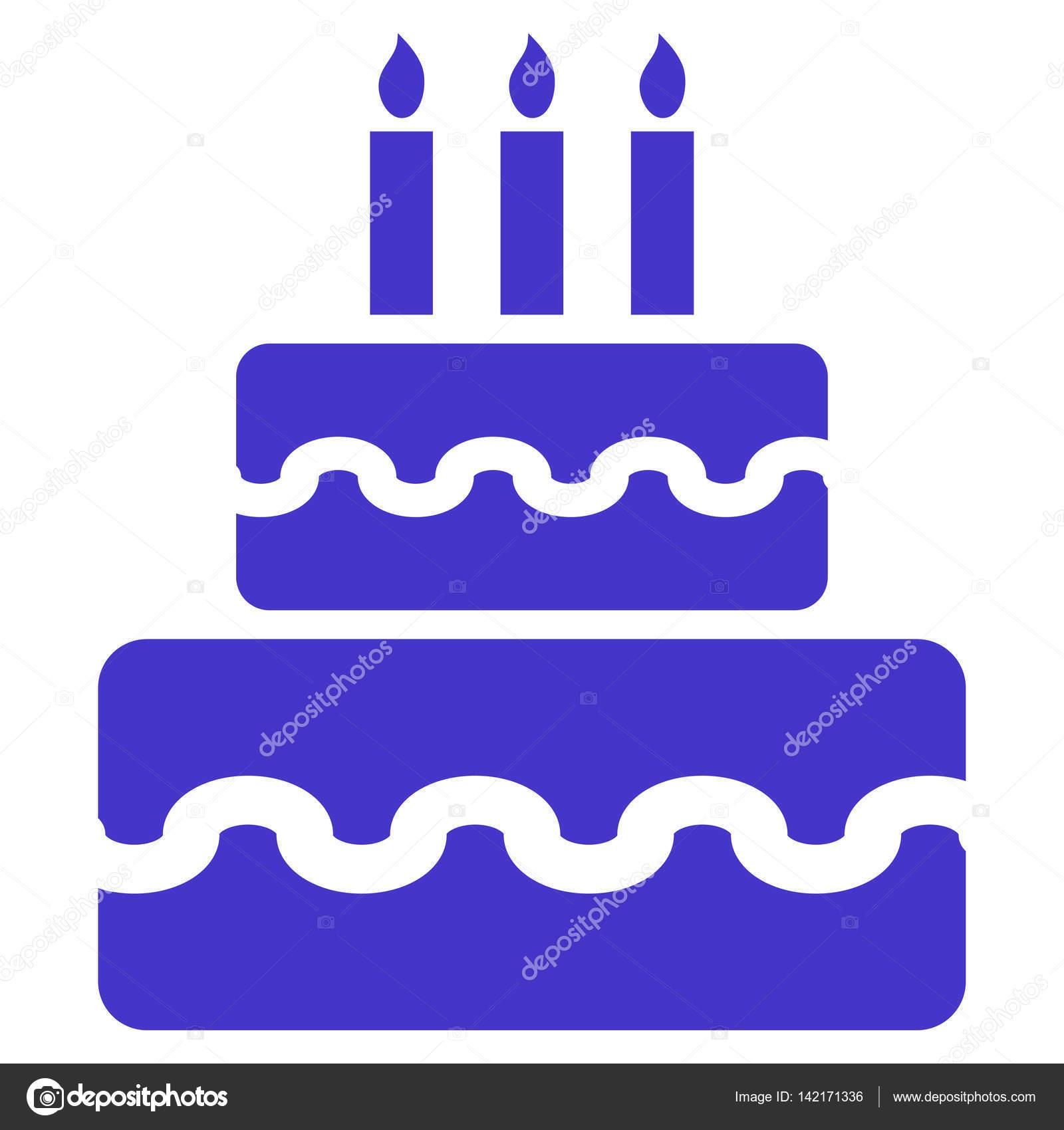 Swell Birthday Cake Vector Icon Stock Vector C Anastasyastocks Gmail Funny Birthday Cards Online Inifodamsfinfo