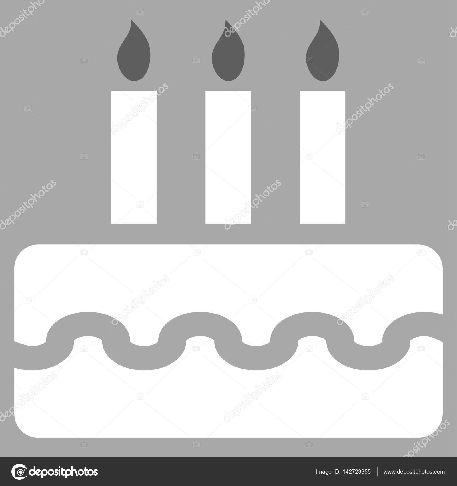 Birthday Cake Vector Icon Stock Vector anastasyastocksgmail