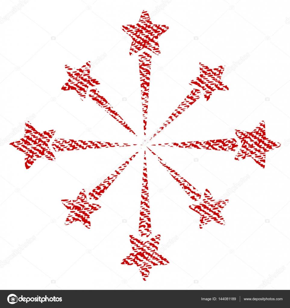 Fuegos Pirotecnicos Vectorizados Estrellas Estallan Fuegos