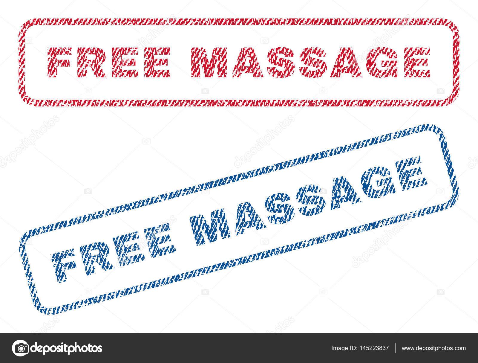 cupones de textil de masaje gratis archivo imágenes vectoriales