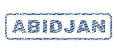 Abidjan Textile Stamp
