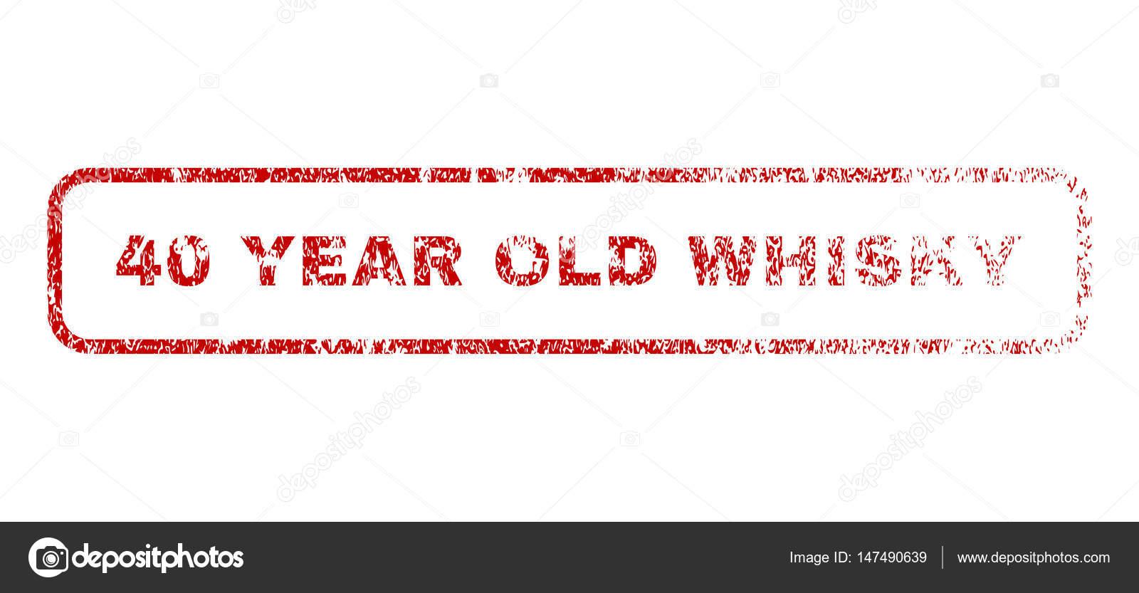 40 jaar oude whisky 40 jaar oude Whisky Rubberstempel — Stockvector © anastasyastocks  40 jaar oude whisky