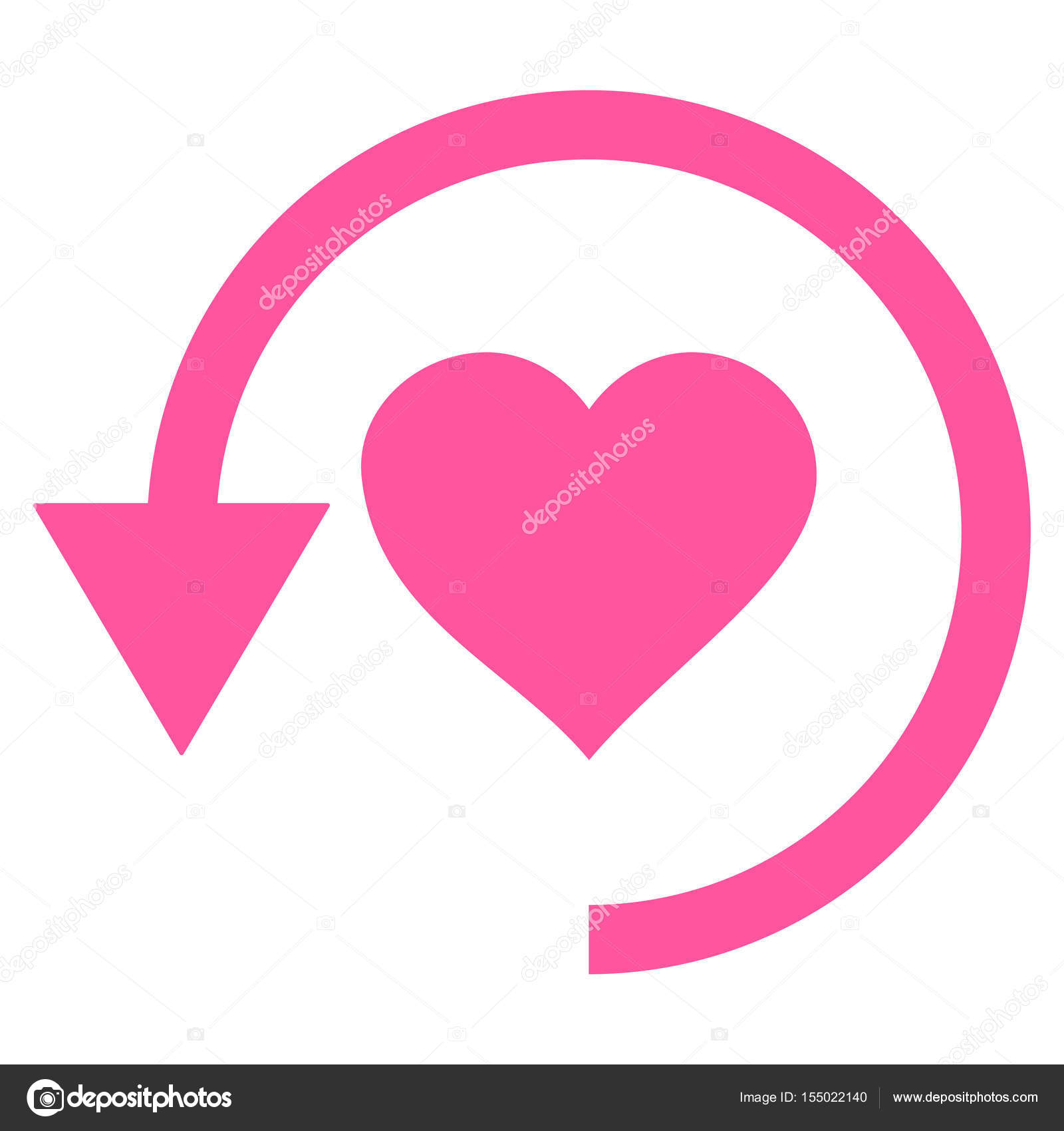 Descargar Aplicaciones De Amor Amor Vector Icono De Actualizar