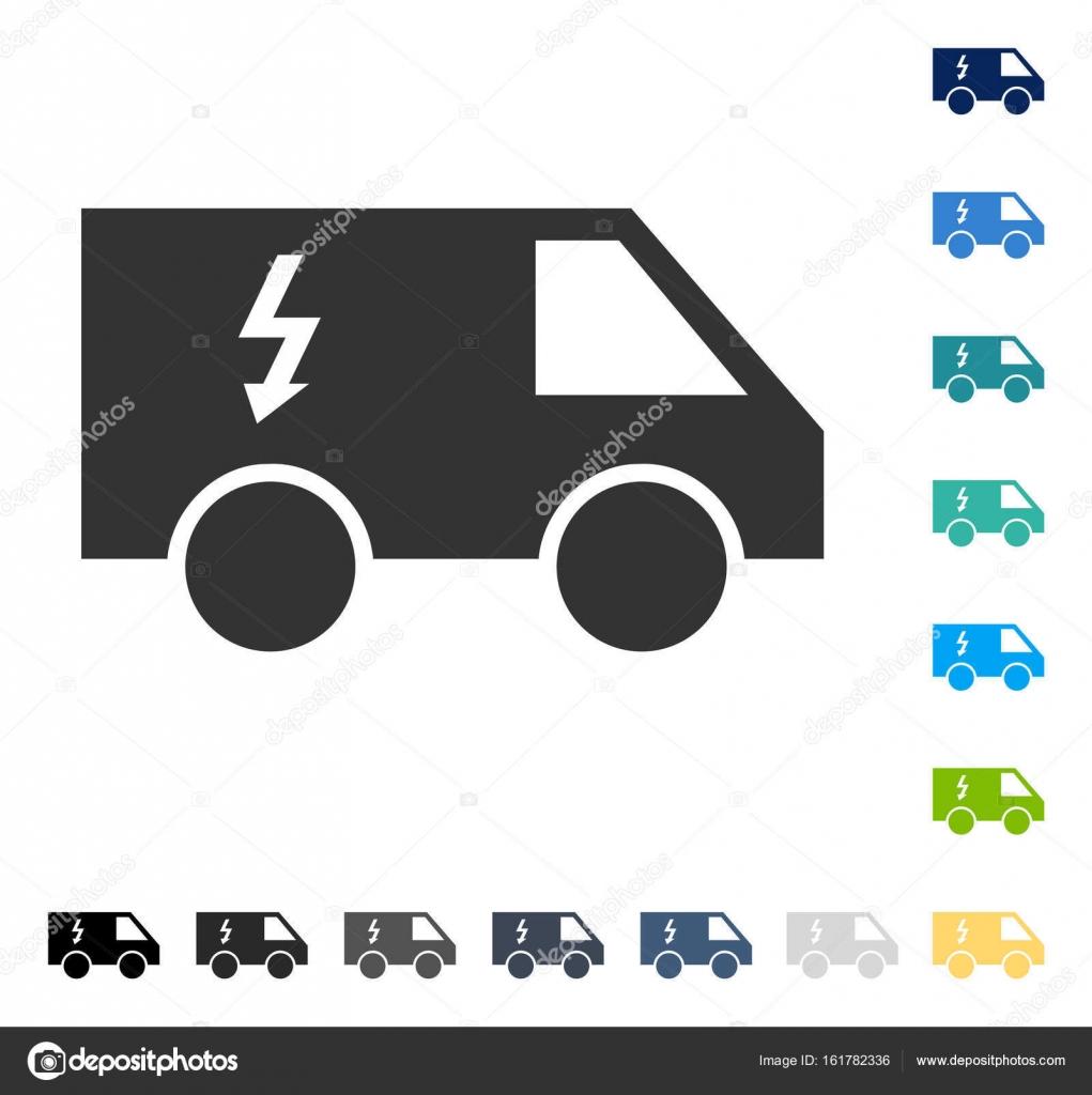 Elektro-Auto Vektor Icon — Stockvektor © anastasyastocks.gmail.com ...