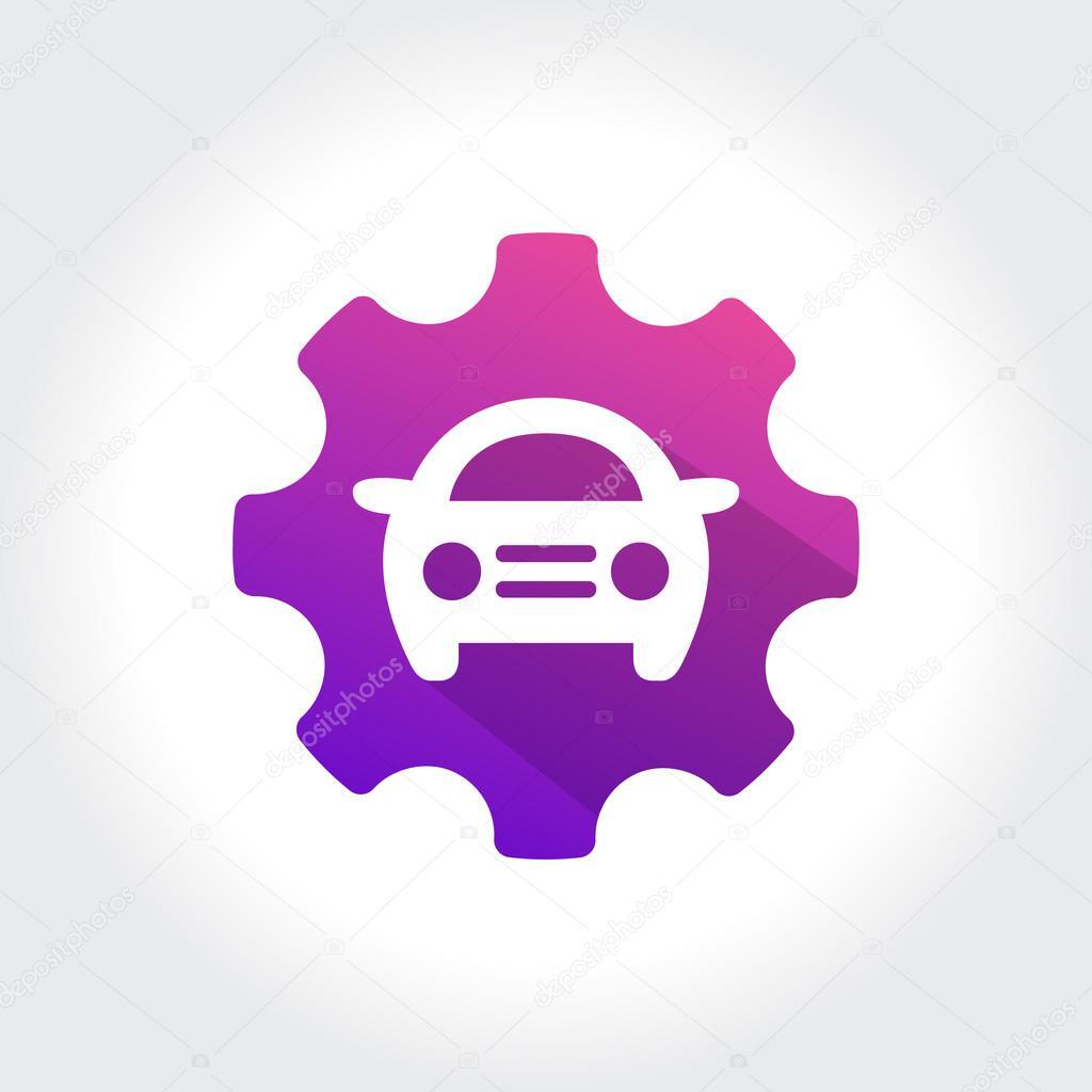 Tune Up Car Symbol