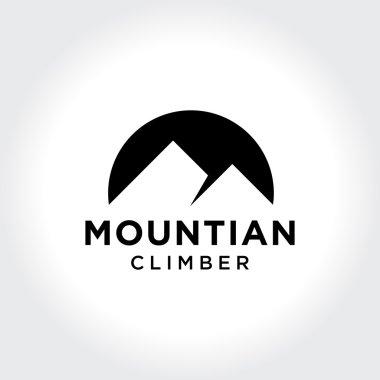 Minimalism Mountain Symbol