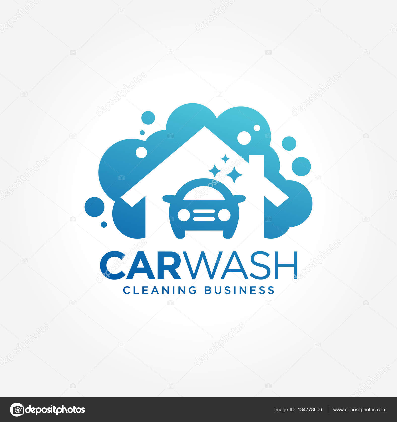Car Wash Logo Symbols