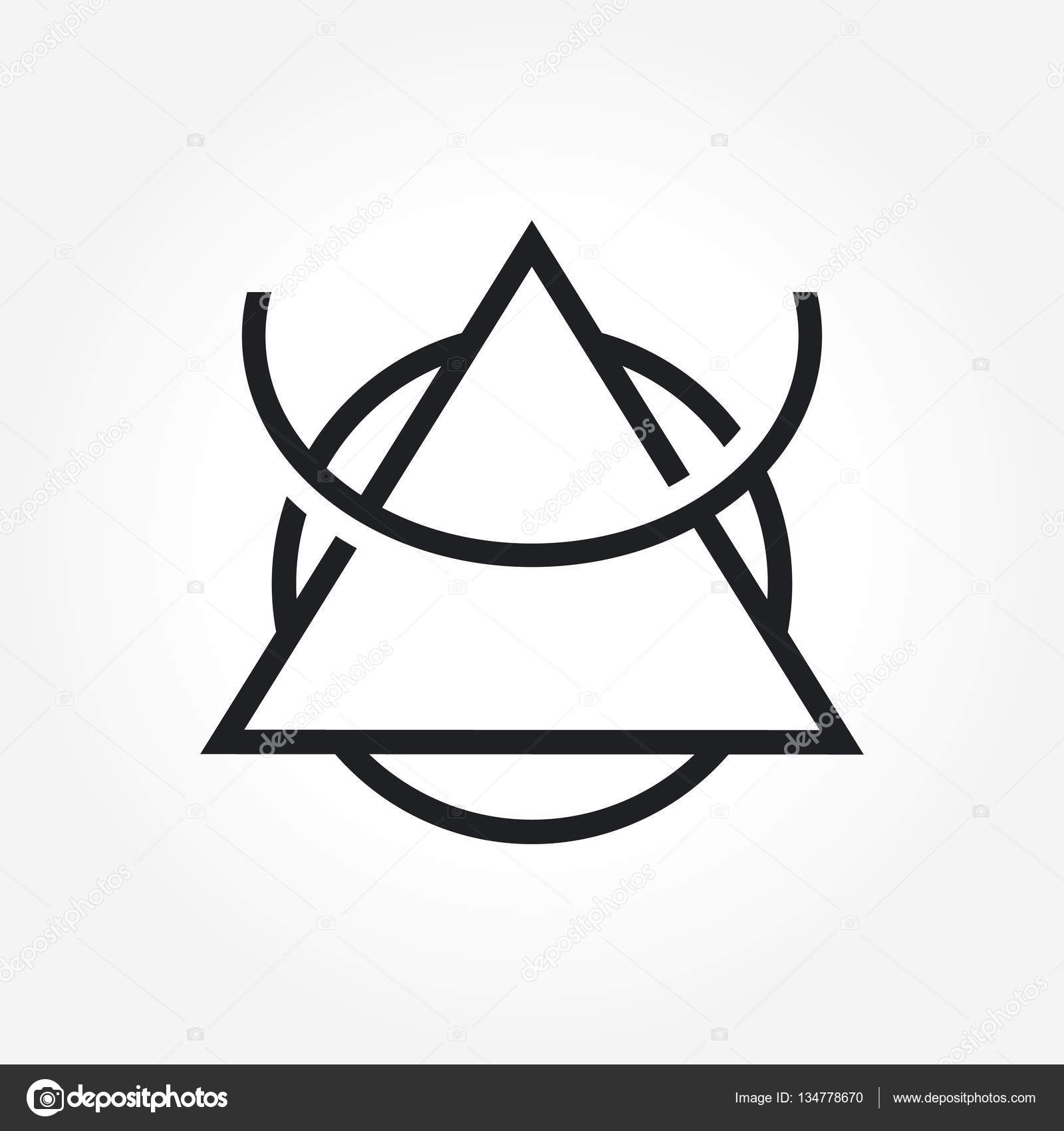 Triangle symbol design stock vector srirejeki 134778670 a simple triangle symbol for your business that quite unique so it can stand from the crowd easy to implement in future needs vector by srirejeki buycottarizona