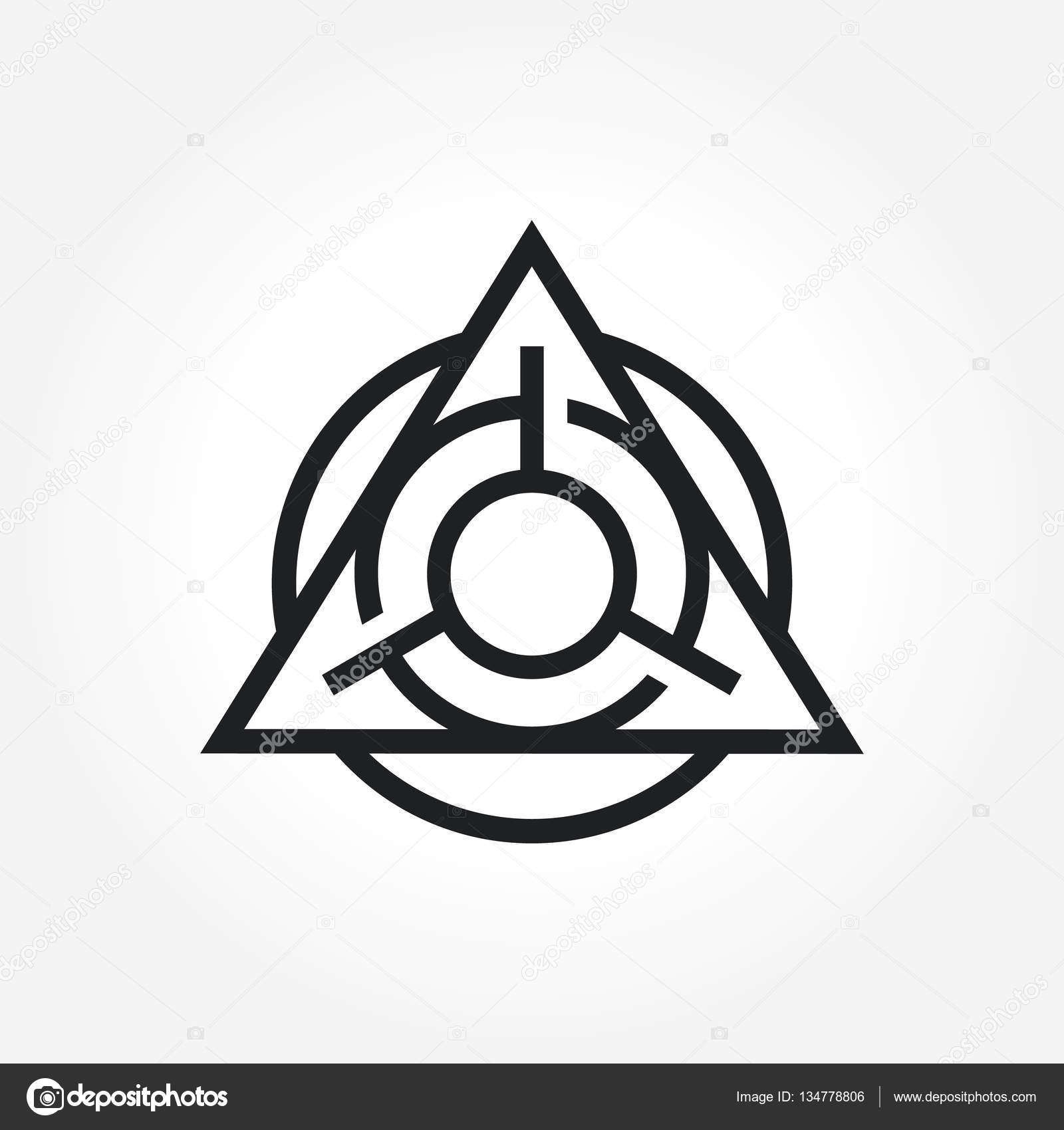 Triangle symbol design stock vector srirejeki 134778806 a simple triangle symbol for your business that quite unique so it can stand from the crowd easy to implement in future needs vector by srirejeki buycottarizona