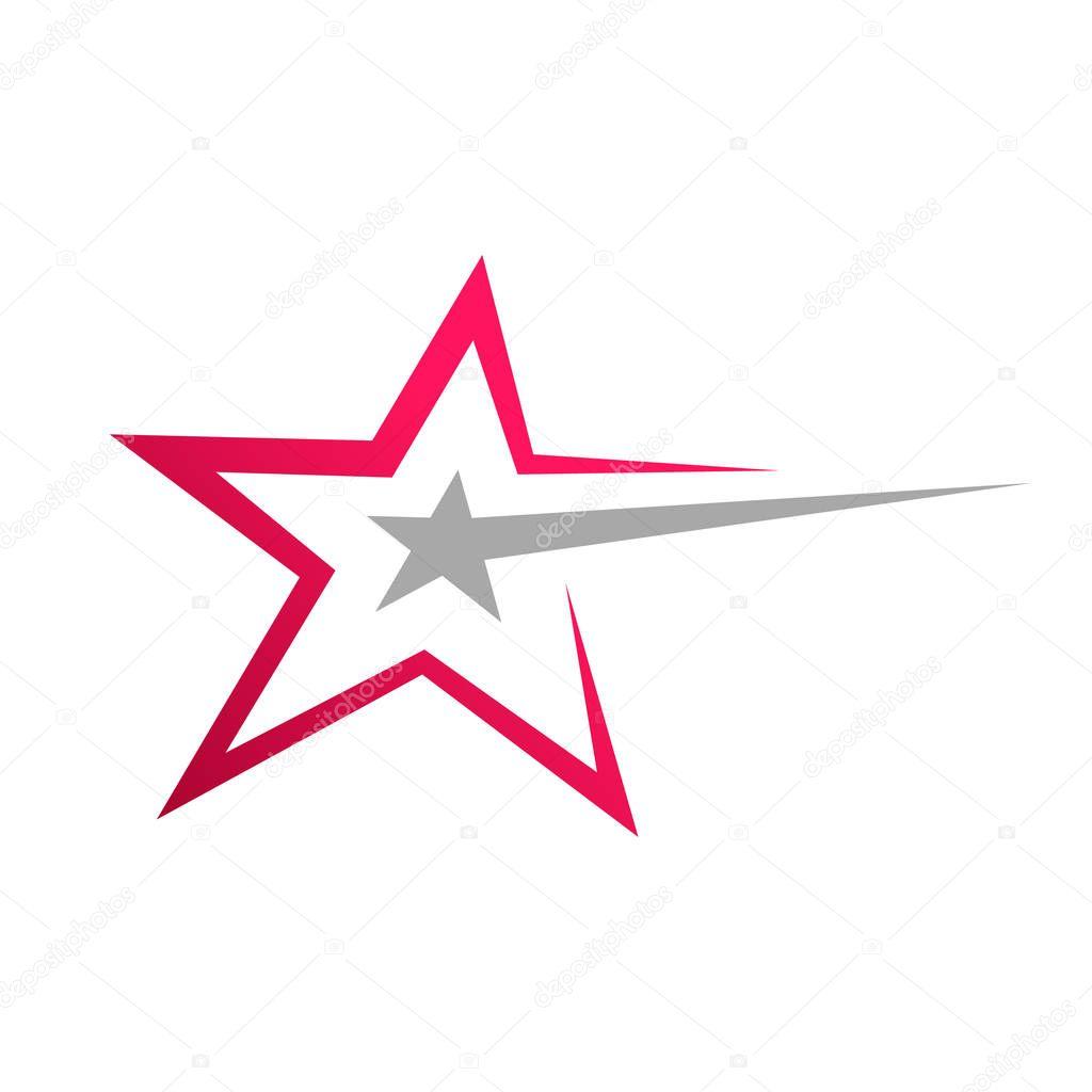 Stylish Star Symbol