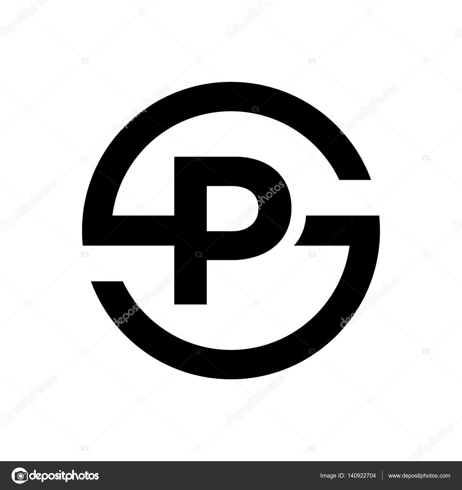 Letter S Symbol Combination With P Stock Vector Srirejeki 140922704