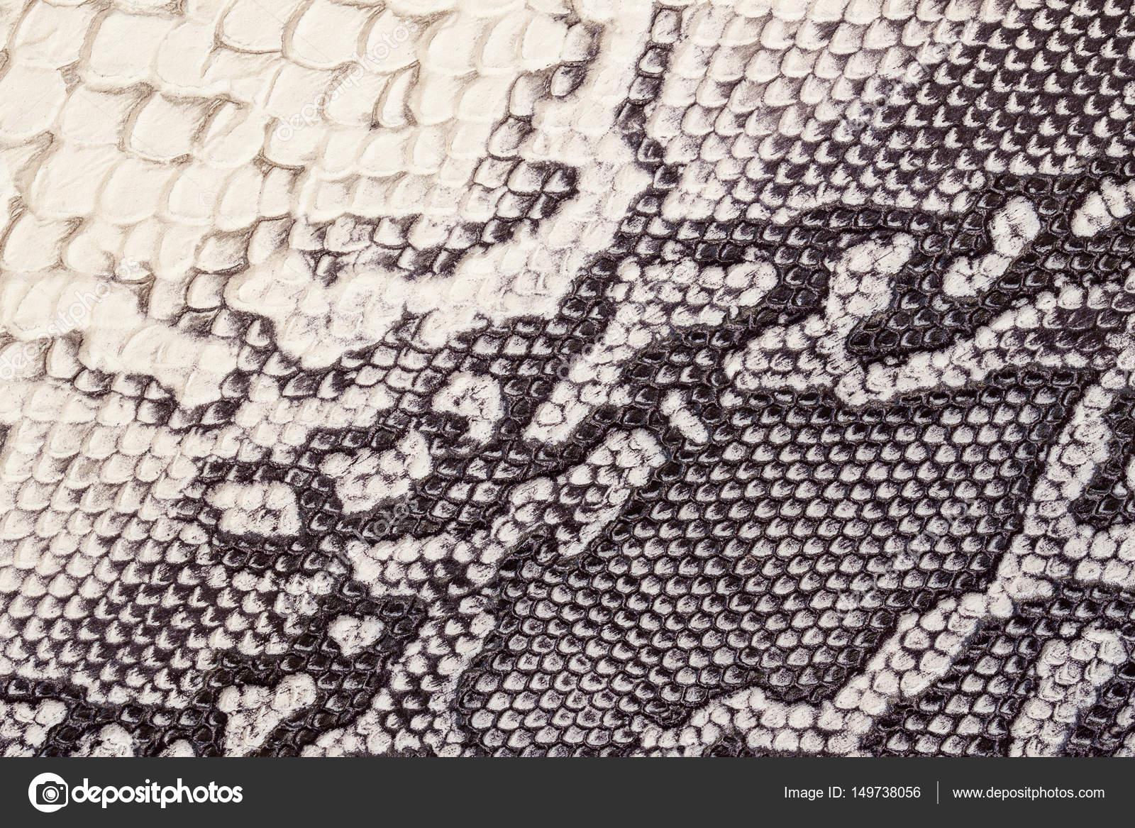 Echtleder-Textur mit Imitation von exotischen Reptilien mit mit ...
