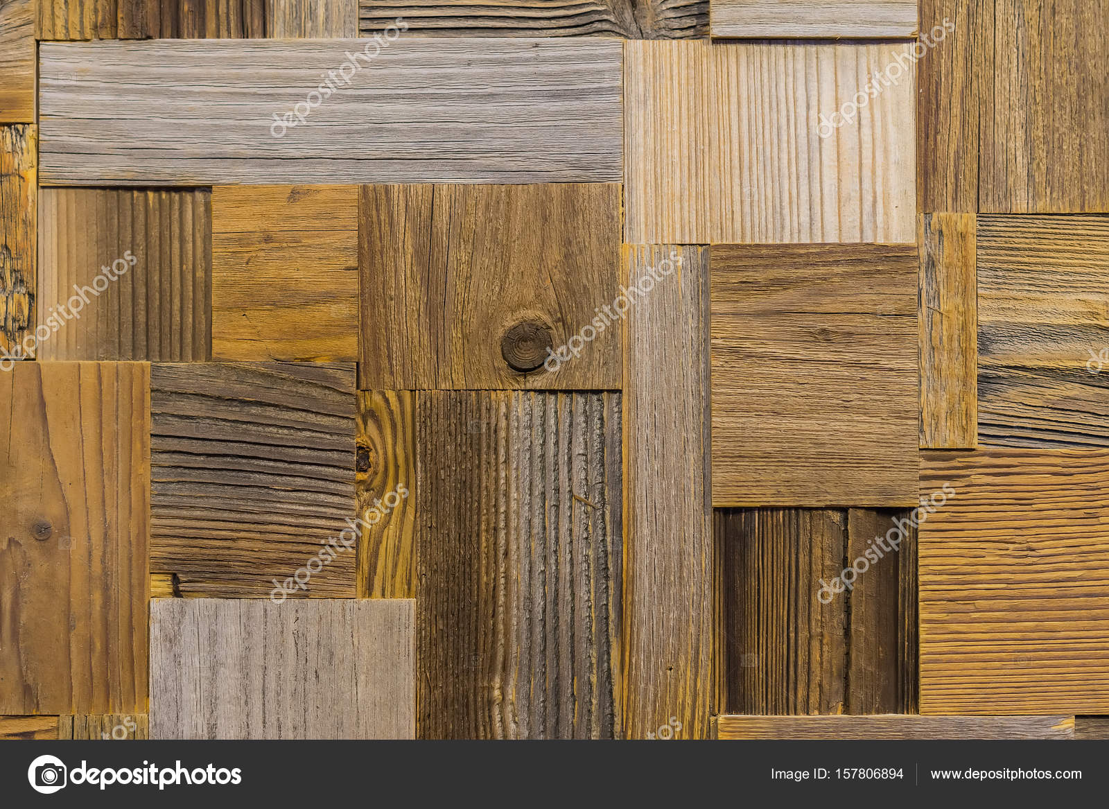 Old vintage white natural wood or wooden texture background or - Background From Different Rectangle Ecological Old Shabby Wood Tiles Wooden Texture With Scratches And Cracks Creative But Natural Backdrop As Basis For