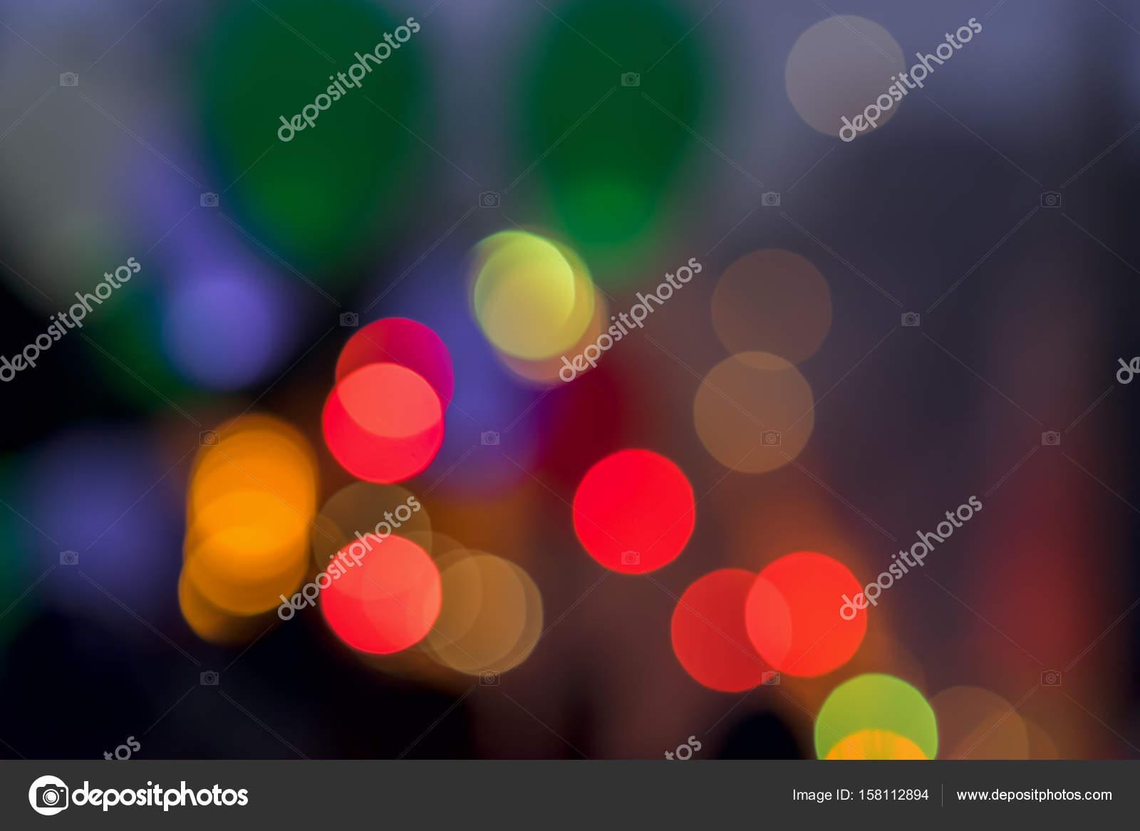 Ballonnen Met Licht : Veelkleurige levendige gloeiende bokeh licht achtergrond van led
