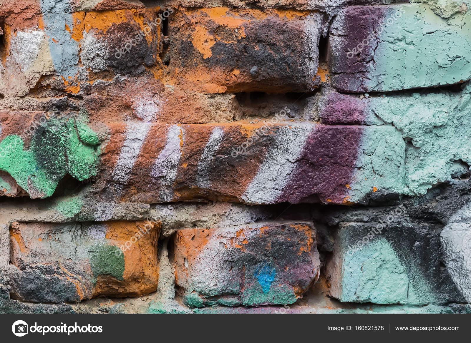 Disegni Per Dipingere Le Pareti : Parete astratta decorata con disegni dipingere close up