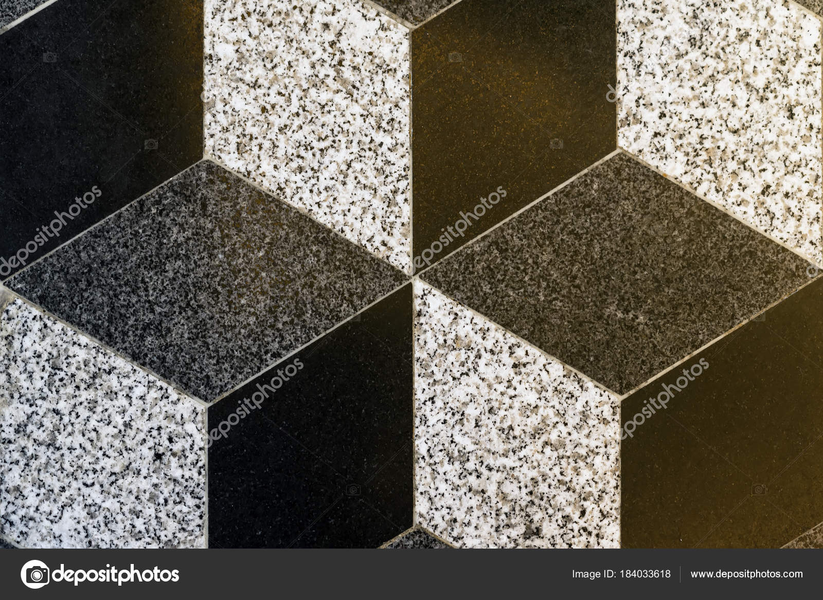 Parte di piastrelle di ceramica mosaico rombo background texture