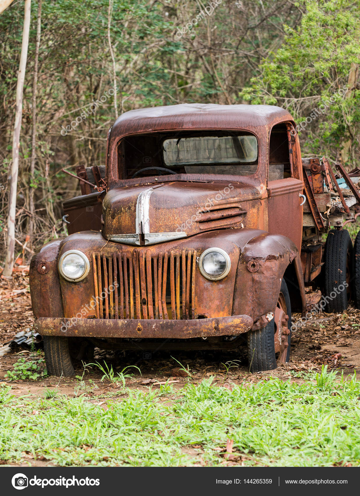 Rusty old Ford truck abandoned – Stock Editorial Photo © sstoll.aapt ...