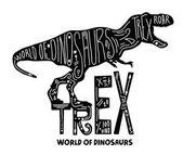 Fotografie hand draw Trex Dinosaur
