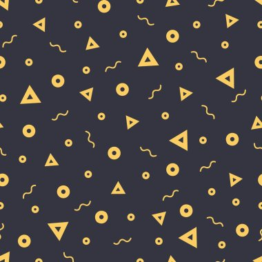 Abstract seamless pattern, vector illustration stock vector