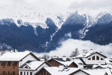 Mountain village with views