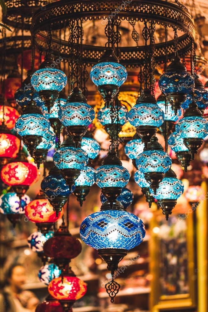 Amazing traditional handmade turkish lamps
