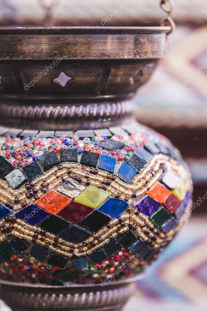 Beautiful traditional handmade turkish lamp