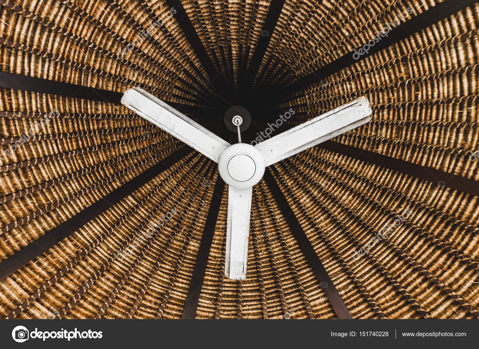 Old ceiling fan in asian style stock photo olegbreslavtsev old ceiling fan in asian style stock photo aloadofball Choice Image