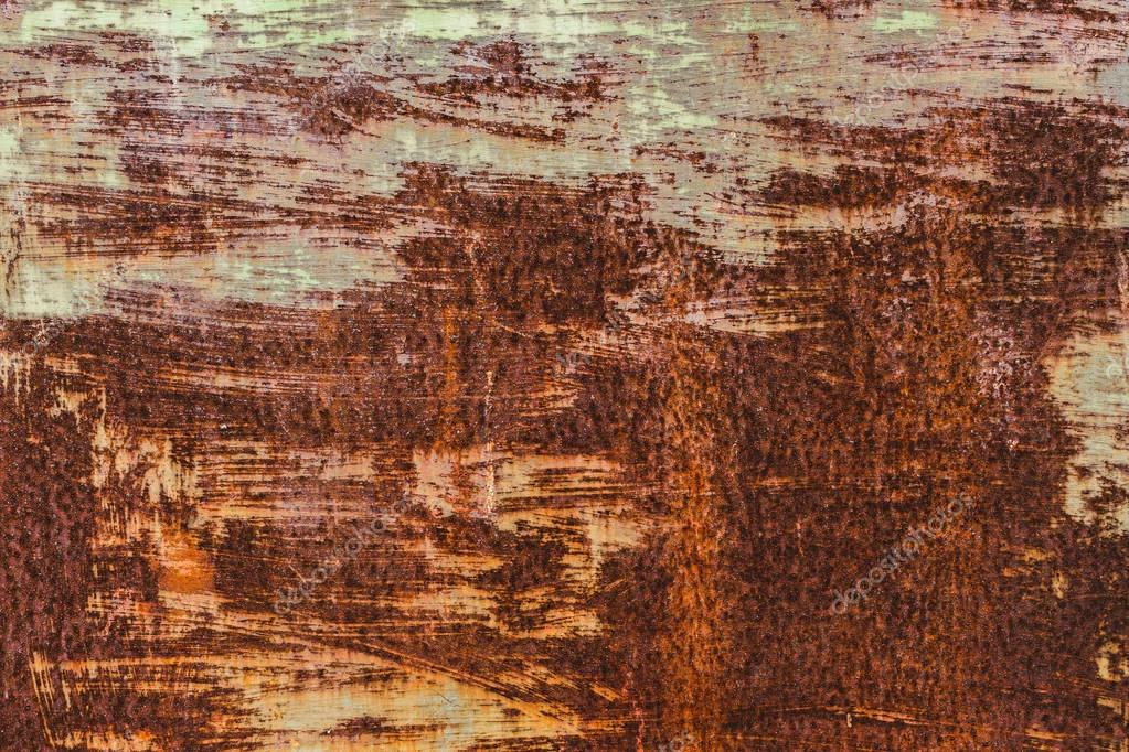 Corroded rusty metal background