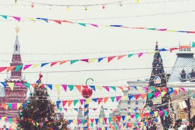 Christmas City Fair in Moscow
