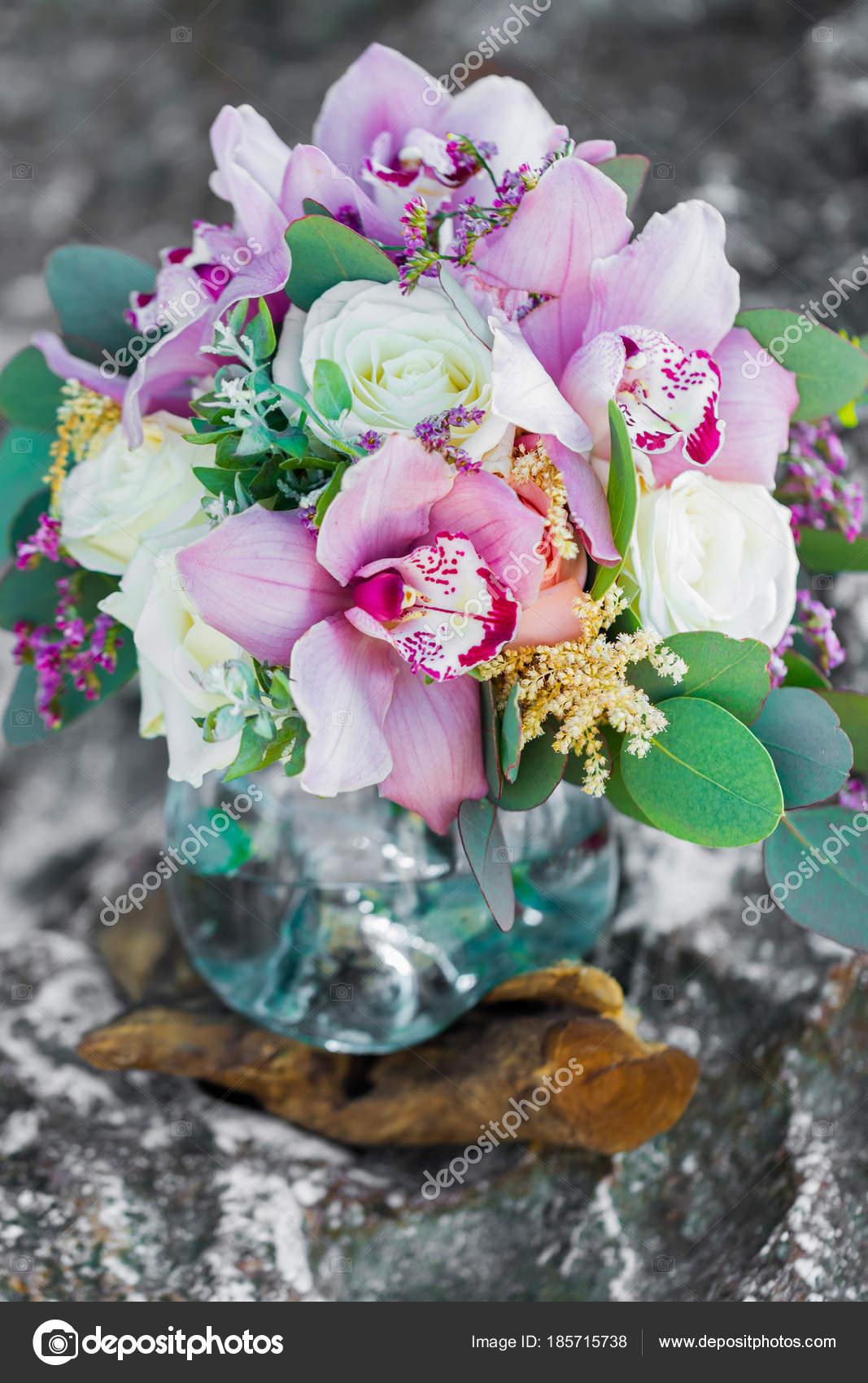 Роза орхидея свадебный букет — 7