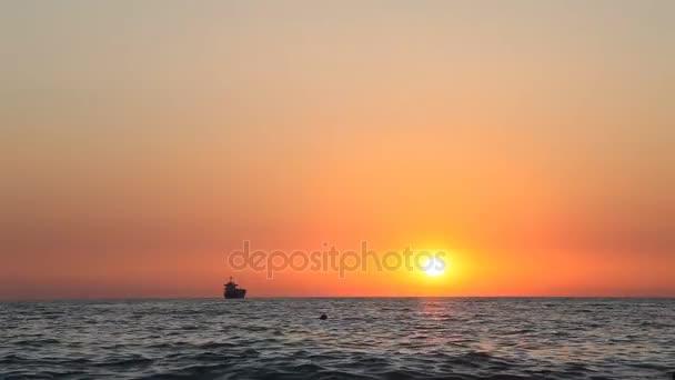 Sandy Beach Meer Ozean Welle Sonnenuntergang Horizont