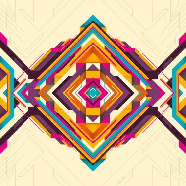 Geometric background with abstract shapes.
