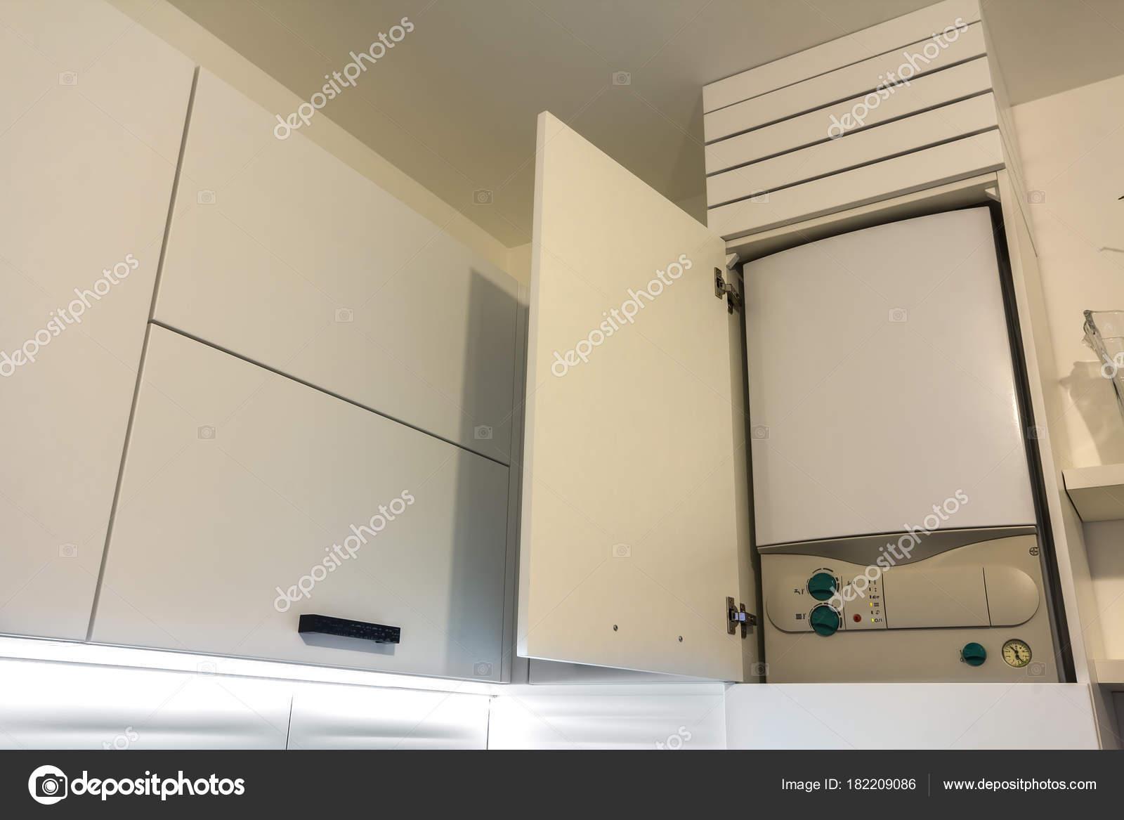 Hause Wasser Heizung Gaskessel Küchenmöbel Für Wohnung Der ...