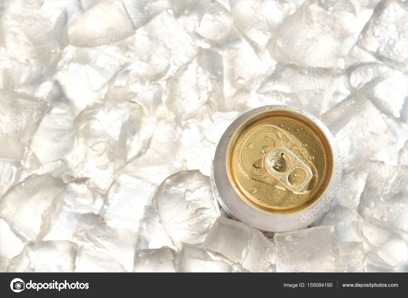 beer can chill in ice stock photo srisomthavil gmail com 155084190