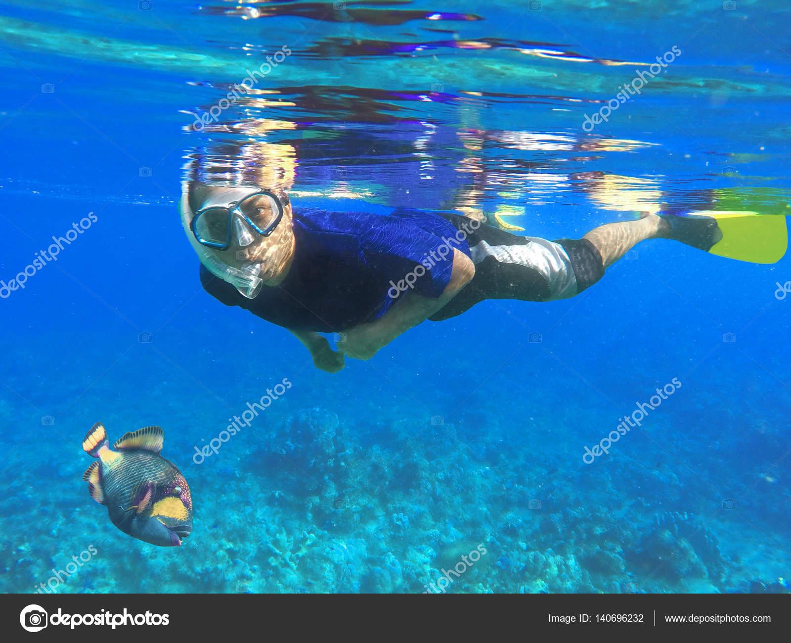 Cours de plongée en apnée